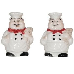 Fat Chef Salt and Pepper Shakers